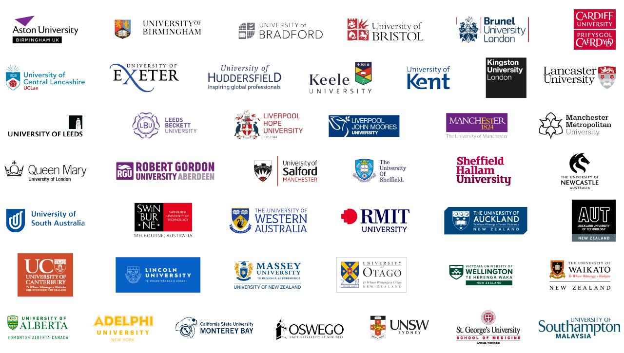 Website RGB International Foundation Year University Logo Bar